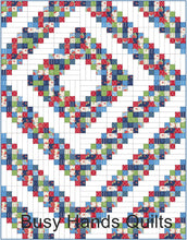 Load image into Gallery viewer, Grandpa's Barn Quilt Pattern PDF - Busy Hands Quilts