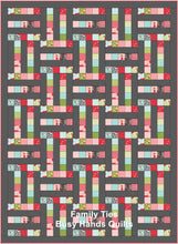 Load image into Gallery viewer, Family Ties Quilt Pattern PDF - Busy Hands Quilts