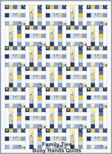 Load image into Gallery viewer, Family Ties Quilt Pattern PDF in Gridwork