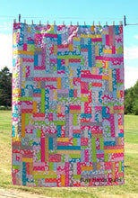 Load image into Gallery viewer, Scrappy Patches Quilt Pattern PDF - Busy Hands Quilts