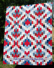 Load image into Gallery viewer, Brick Cottage Lane 2 Quilt Pattern PDF