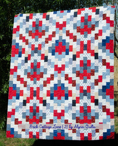 Brick Cottage Lane 2 Quilt Pattern PDF