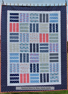 Nautical News Quilt Pattern PDF