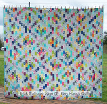 Load image into Gallery viewer, Brick Cottage Lane 2 Quilt Pattern PDF - Busy Hands Quilts