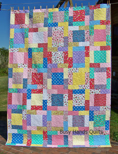 Rosewood Lane Quilt Pattern PRINTED - Busy Hands Quilts