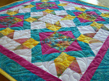 Load image into Gallery viewer, Diamond Dance Quilt Pattern PDF - Busy Hands Quilts