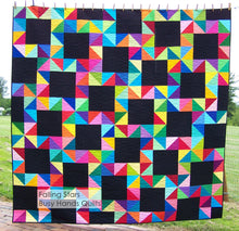 Load image into Gallery viewer, Falling Stars Quilt Pattern PDF - Busy Hands Quilts