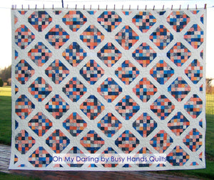 Oh My Darling Quilt Pattern PDF - Busy Hands Quilts