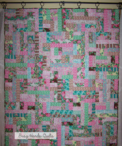 Scrappy Patches Quilt Pattern PDF - Busy Hands Quilts