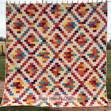 Load image into Gallery viewer, Brick Cottage Lane 2 Quilt Pattern PRINTED