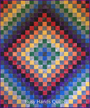 Load image into Gallery viewer, Patchwork Blues Quilt Pattern PDF - Busy Hands Quilts