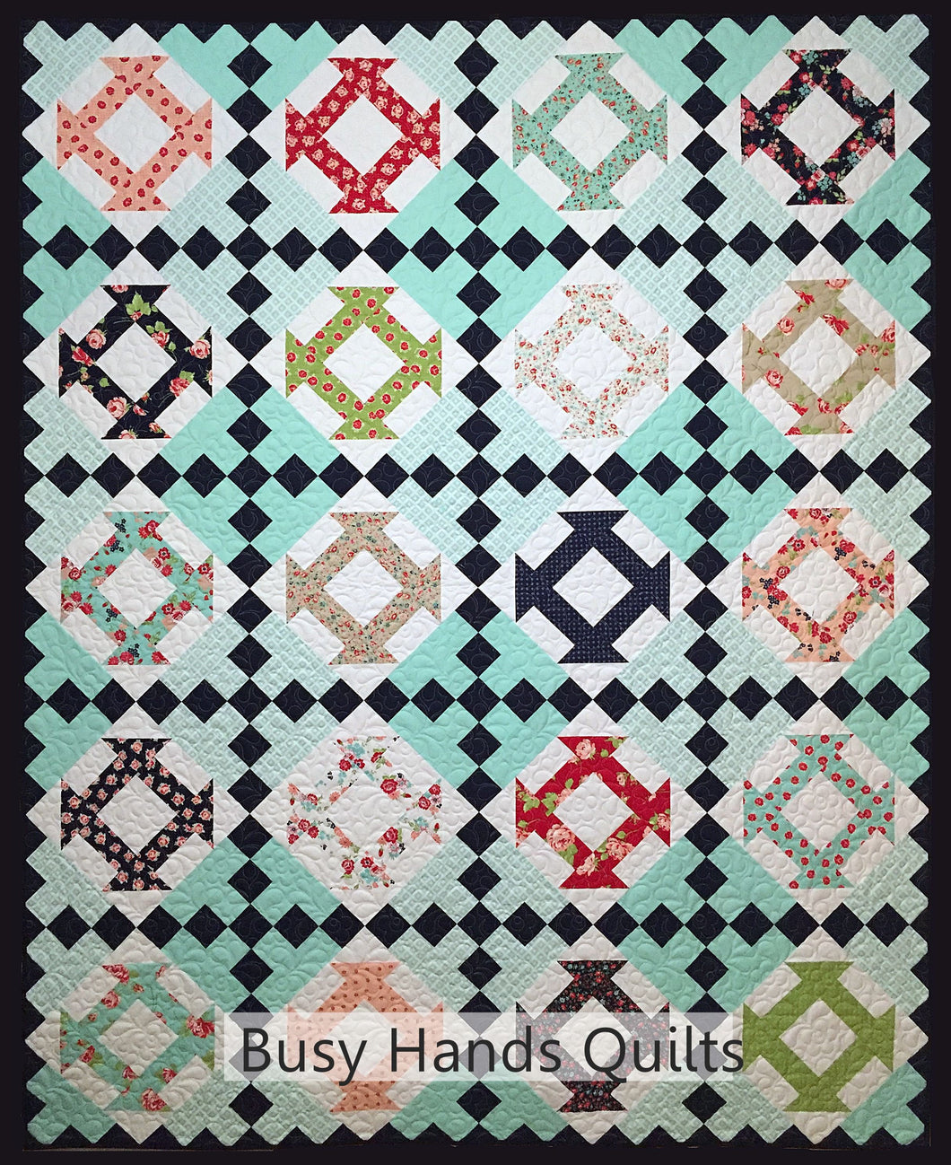 Ava's Garden Quilt Pattern PDF - Busy Hands Quilts