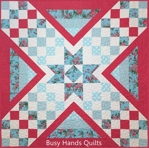 Liberty Lake Quilt Pattern PRINTED - Busy Hands Quilts