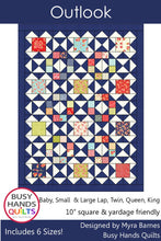 Load image into Gallery viewer, Outlook Quilt Pattern PDF - Busy Hands Quilts