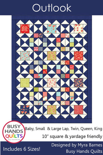 Outlook Quilt Pattern PDF