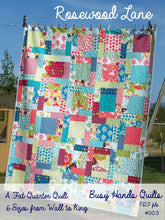 Load image into Gallery viewer, Rosewood Lane Quilt Pattern PDF - Busy Hands Quilts