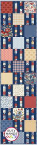 Mini Picket Fence Quilt Pattern PDF