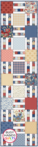 Mini Picket Fence Quilt Pattern PDF - Busy Hands Quilts