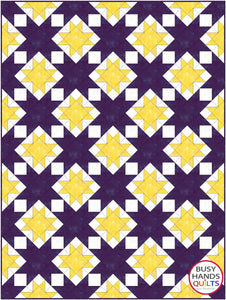 School Colors Quilt Pattern PRINTED