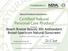 npa certified sunscreen