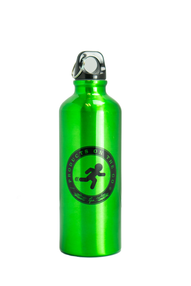 On The Go Aluminum Sports Bottle