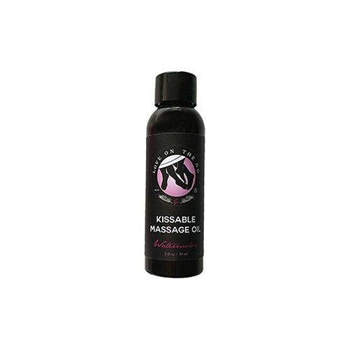 Kissable Massage Oil- Watermelon Flavor