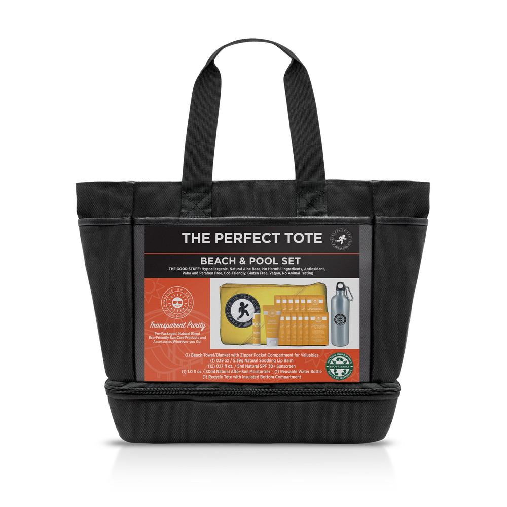 The Perfect Tote | Beach Blanket & Sun Care