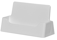 Style A - White - Free Standing Business Card Holder