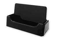 Style A - Black - Free Standing Business Card Holder