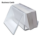 Style G - Clear - Free Standing Business Card Holder