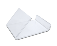 Style H - Clear - Free Standing Business Card Holder