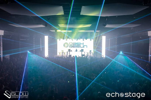 X-Laser Defiant projectors and Dash Berlin electrify Echostage D.C.