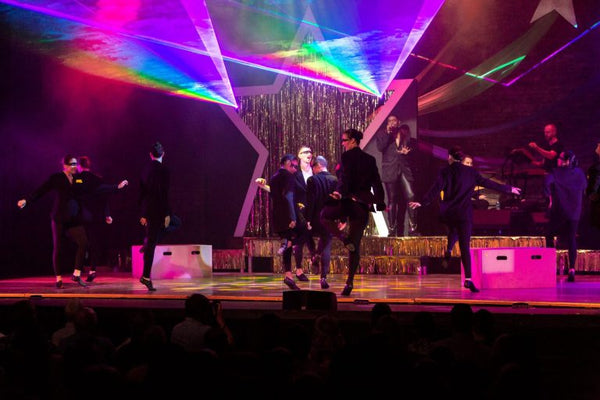 Stonewolf Studios brings lasers into dance