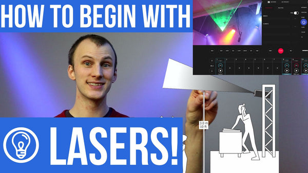 How to Begin with Lasers from LearnStageLighting.com!