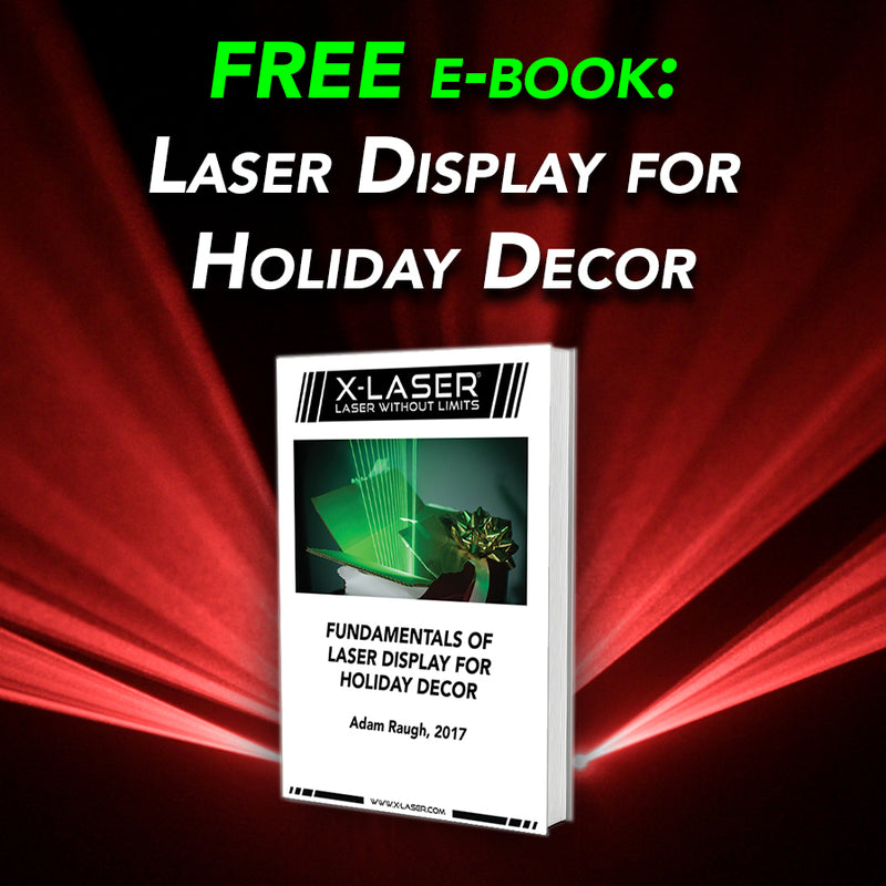Download our FREE e-book on holiday laser displays!