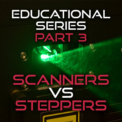 Educational series: Galvanometer scanners vs. stepper motors