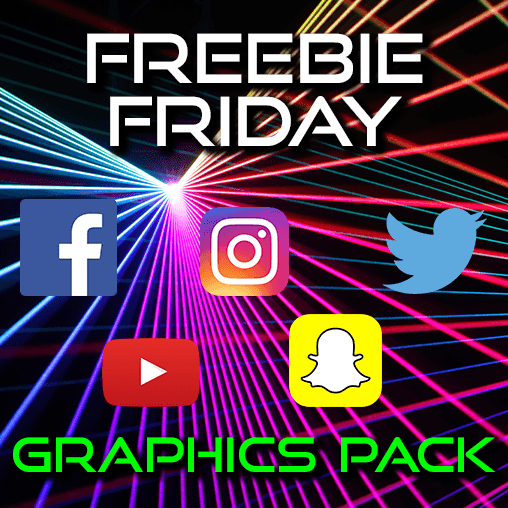 Freebie Friday: Free laser graphics!
