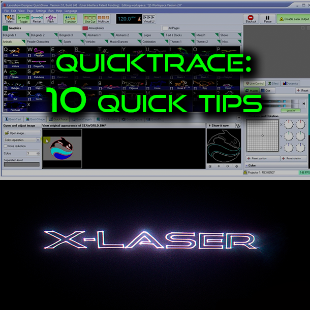 10 Quick Tips: Quickshow Quicktrace