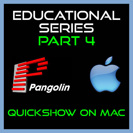 Educational series: Quickshow on Mac
