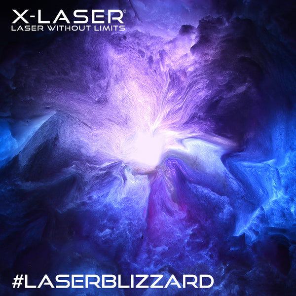 #LaserBlizzard of 2016, starring the Skywriter HPX