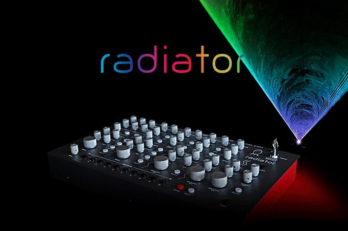 Radiator - The Laser Synth console!
