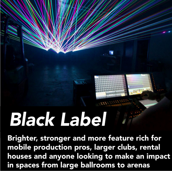 Black Label - Production grade gear rich with features