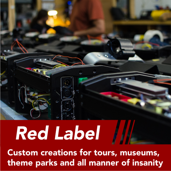 Red Label - Custom systems for unique applications