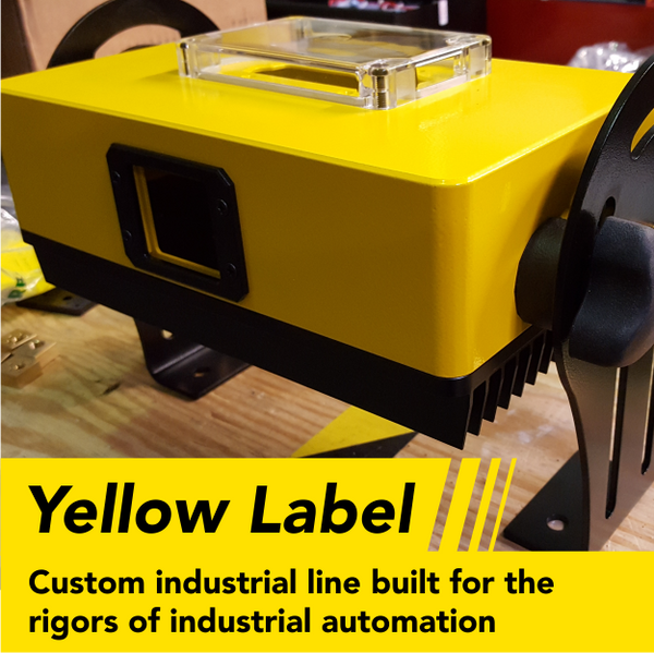 Yellow Label - Custom industrial applications