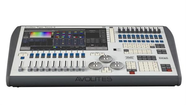 Avolites Tiger Touch II Tour Package (w/ flight case, cover, lamp)