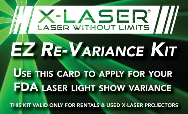 EZ Re-Variance Kit (for used & rental lasers)