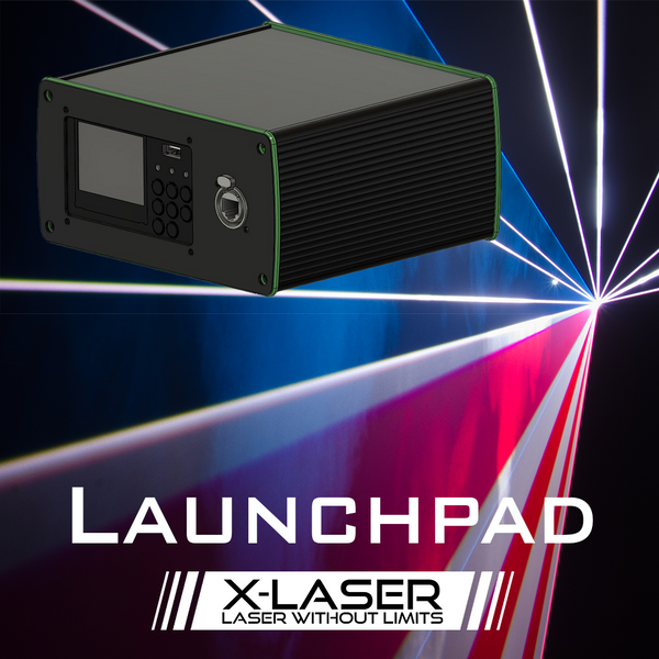 Launchpad Laser Controller