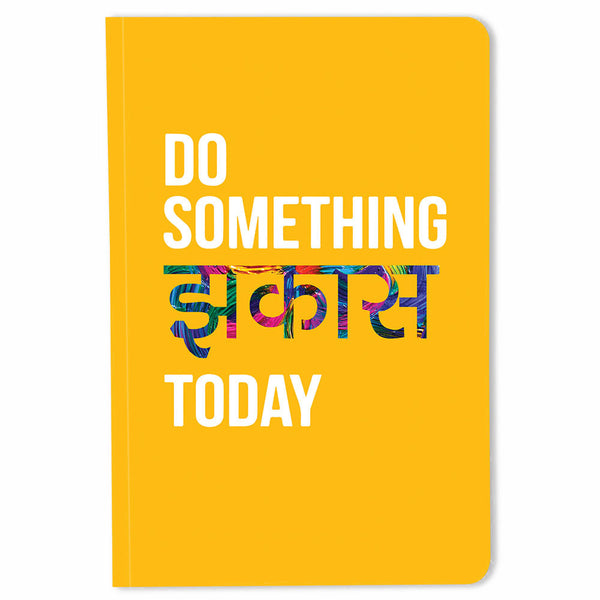 Do Something Jhakass Today – Buy A5 Cool Quirky Notebooks Online