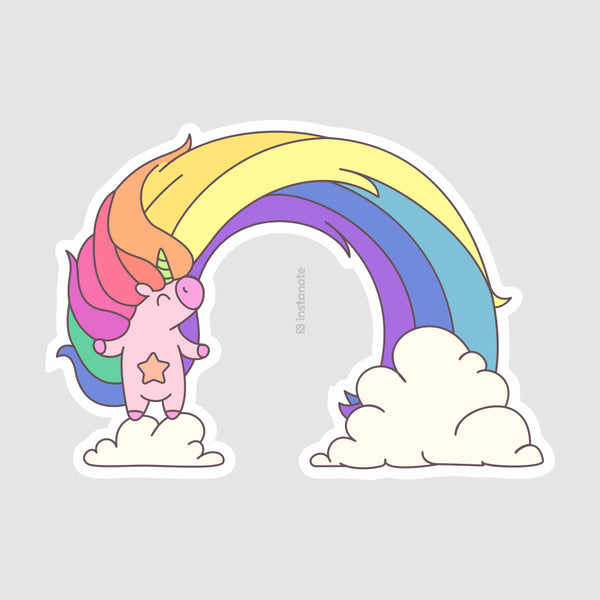 unicorn laptop phone cover stickers