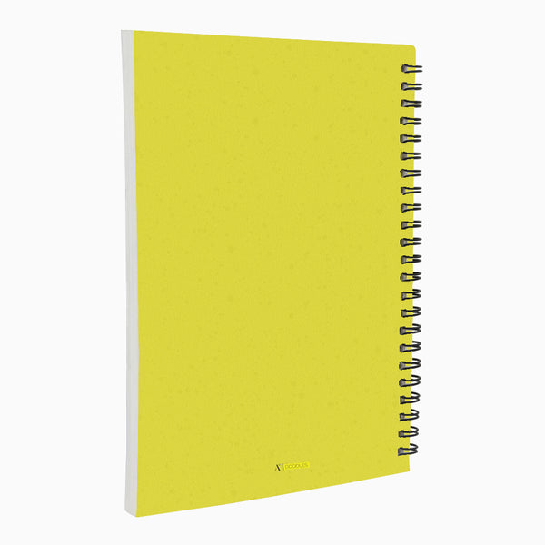 Do Just Yellow - Non Dated Daily Planner A5 Size 80 Pages